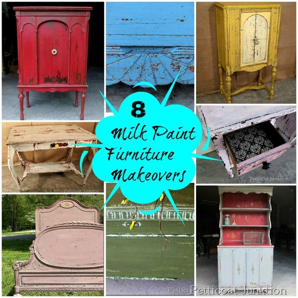 Miss-Mustard-Seed's-Milk-Paint-Projects. Technically not chalk paint but same idea. And I actually love this AND it's cheaper!!!