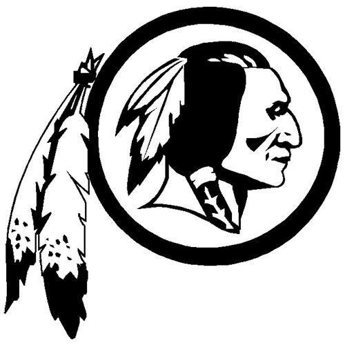 washington redskins logo coloring pages - photo#10