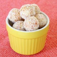 Easy No-Bake White Chocolate, Coconut & Apricot Balls - Bake Play Smile