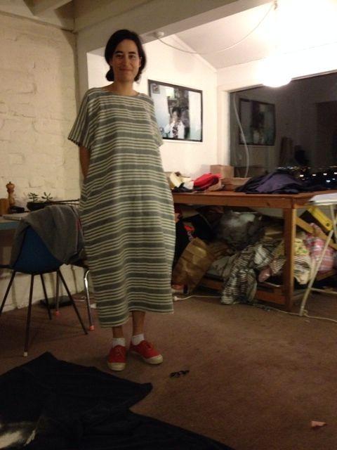 Linen Dress by Keva Rands