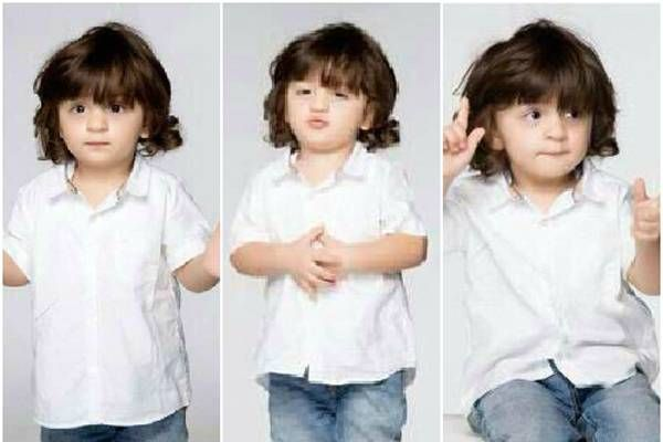 Awww! AbRam's six pack abs