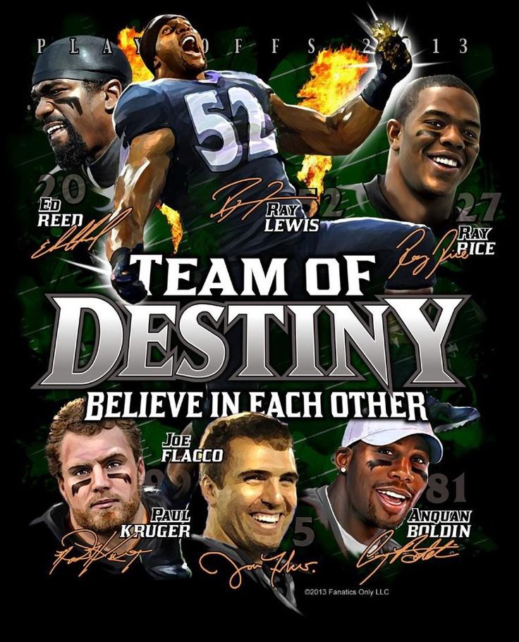 Team of Destiny - Baltimore Ravens