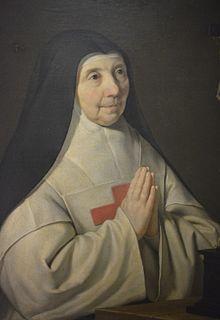 La mère Agnès Arnauld, Philippe de Champagne - Jeanne,1593-1671 en religion Mère Agnès est élue abbesse de Port Royal en 1636 et réélue en 1658.Moins hardie que sa sœur Jacqueline dans ses conceptions, elle montra autant de caractère puisque, sommée de condamner Jansen, elle refusa (aout 1664) et fut déplacée avec d'autres religieuses à Port-Royal-des-Champs ou elle attendit sereinement la fin des persécutions (paix de Clément IX,1669).Elle est le principal auteur des Constitutions de…