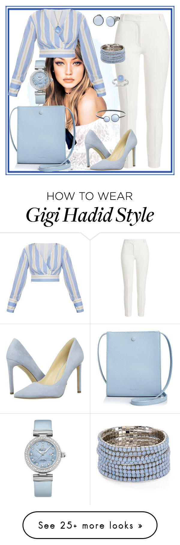 """Camden"" by sally-taylor-winter on Polyvore featuring Joseph, Steven Alan, Nine West, Skagen, OMEGA, Aqua and Kendra Scott"