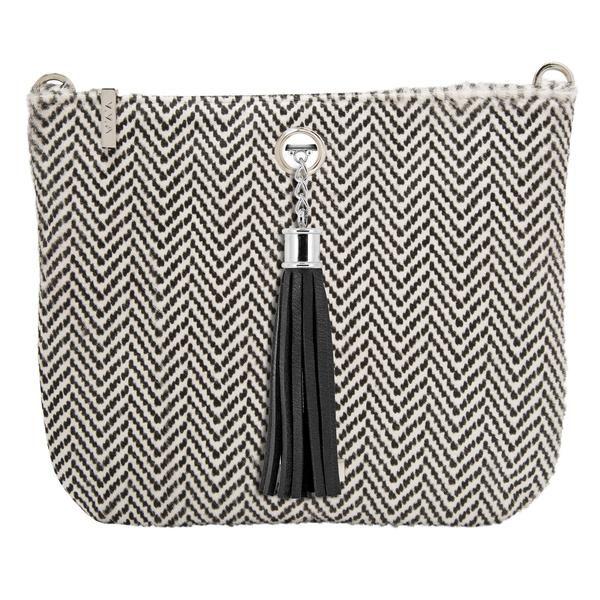 VVA Handbags - Ivy Calf Chevron  http://www.vva.co.uk/products/small-leather-handbag-black-white-chevron