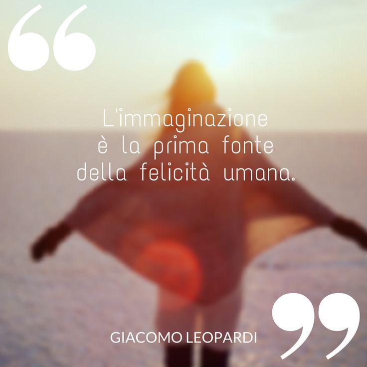 L'immaginazione è la prima fonte della felicità umana.  #immaginazione #leopardi #giacomoleopardi#felicità #significato #ilovewriting #writer #quote #quotes #citazioni