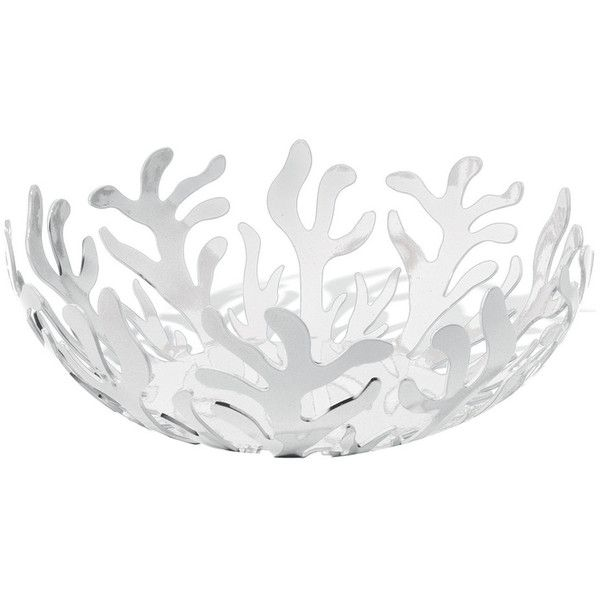 Alessi - Fruits Bowl Mediterraneo ($90) ❤ liked on Polyvore featuring home, kitchen & dining, serveware, decor, bowls, alessi bowl, alessi, italian fruit bowl, alessi fruit bowl and coral bowl