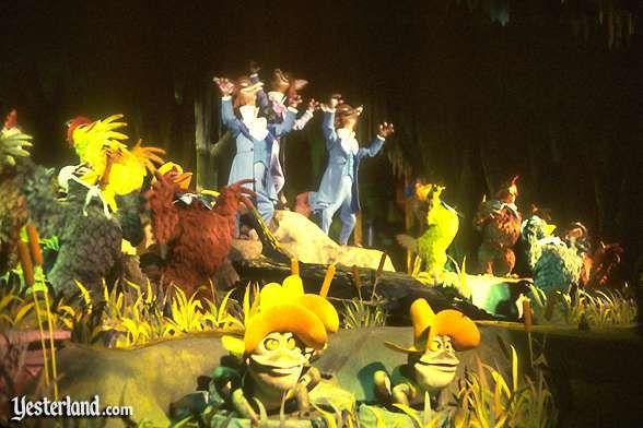 America Sings in Tomorrowland, Disneyland: a childhood favorite