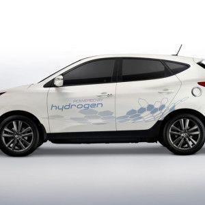 2015 Hyundai Tucson, a hydrogen powered car