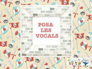 APP POSA LES VOCALS EN EL SEU LLOC - ST. JORDI. DETALLS AMB ÀNIMA