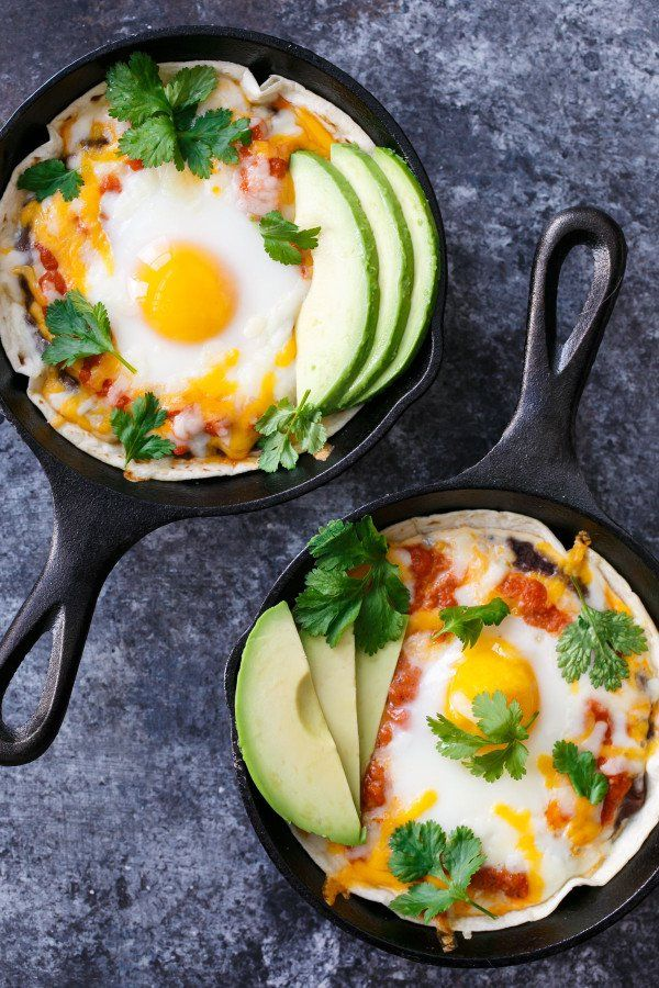 Pin for Later: 38 Recipes That Will Give You a Reason to Start Your Day With Eggs Skillet Huevos Rancheros Get the recipe: skillet huevos rancheros
