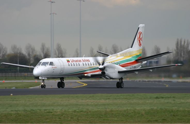 Aprašymas Lithuanian Airlines Saab 2000