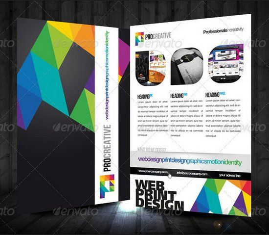 professional flyer design templates for multi purpose business - Flyer Design Ideas