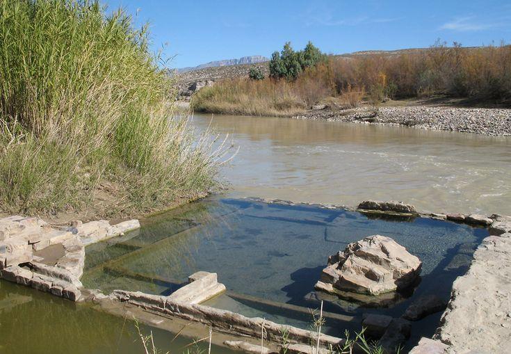 Natural Hot Springs Big Bend