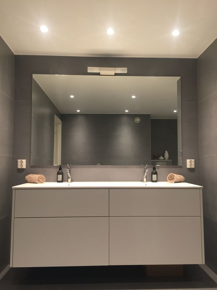 Minimal bathroom | Feel free to follow me on Instagram @Kollenfruen if you like scandinavian and nordic decor and interior #myphoto #minimalism @kvik #sentibykvik