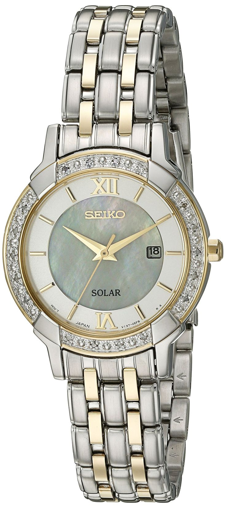 Seiko Women's 'Sport Watches' Quartz Stainless Steel Dress Watch (Model: SUT278)
