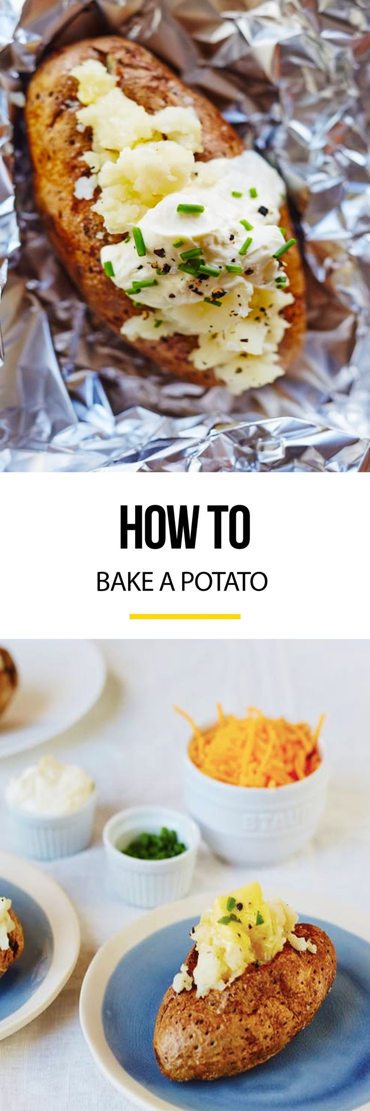 How To Bake A Potato: Three Easy Methods — Tips From The