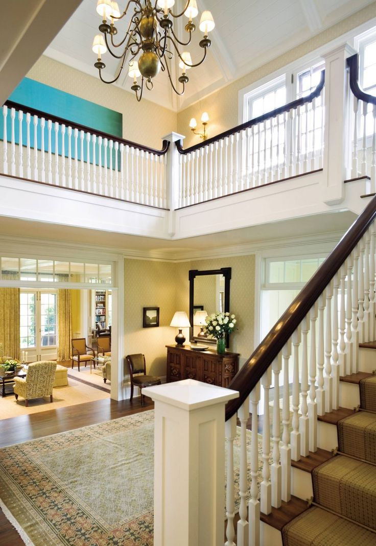 Entrance Hall by Timothy Macdonald and Frank Greenwald in Wainscott, New York