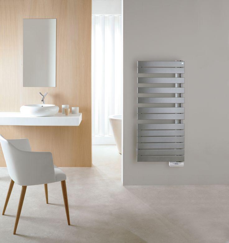 Radiateur s che serviettes zehnder roda asym radiateurs design pinterest - Radiateur seche serviette miroir ...