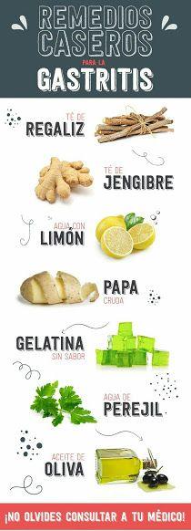6 remedios efectivos para la gastritis. #Remedios #Salud…