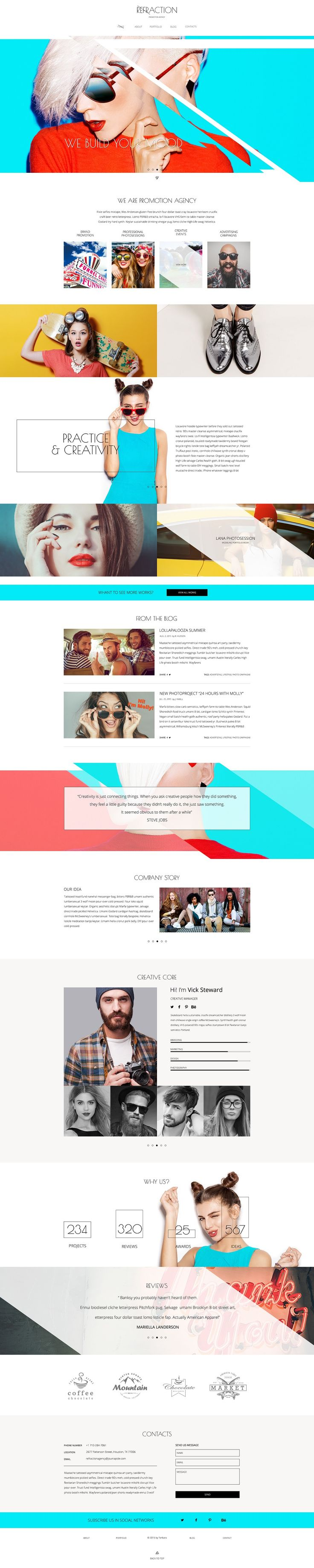 Business WP Theme #creative #designs