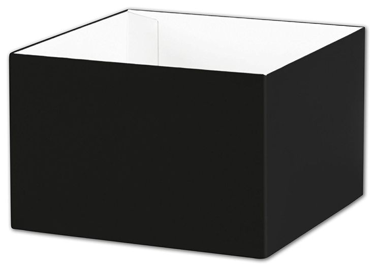 Solid Gift Box - Black Gift Box Bases, 6 x 6 x 4' (25 Boxes) - BOWS-DGB-M-12 *** Want to know more, click on the image.