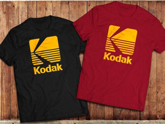 Kodak logo T-Shirt Photographer camera Tee vintage retro