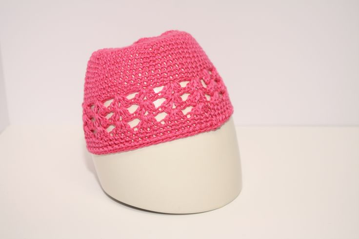 Hot Pink Knit Hat