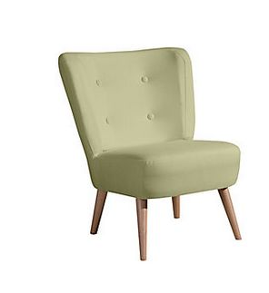 Max Winzer® Stuhlsessel im Retro-Design »Neele«, mit Holzbeinen