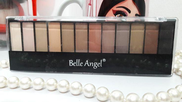 paleta 12 sombras foscas belle angel