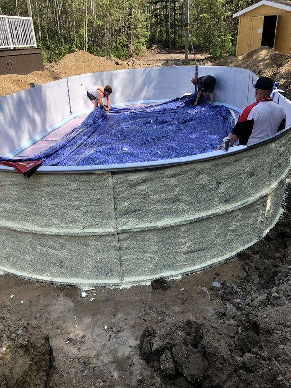 78 Inspirational Inground Swimming Pool Benefits For Your Home Swimming Pools Inground Diy Swimming Pool Homemade Swimming Pools
