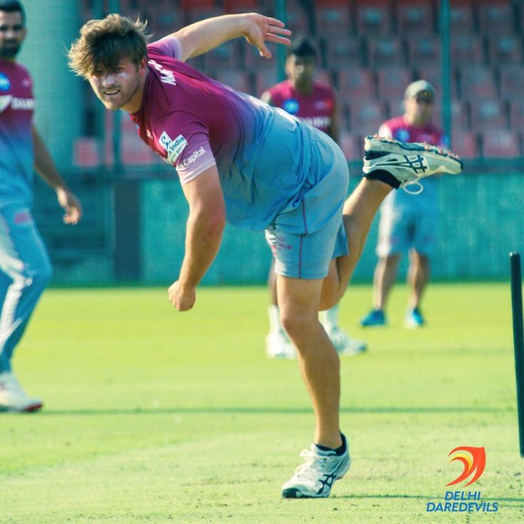 Great first training session with @officialdaredevils also good to be back bowling! #needahaircut