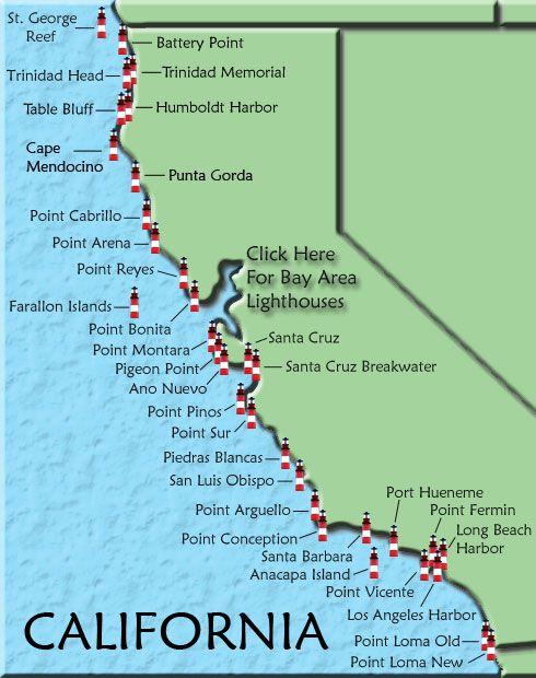Us Route Map Globalinterco - Us road map highway 101 california