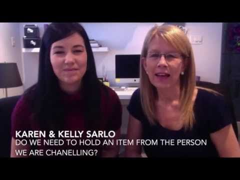 Do We Have to Hold an Item From the Person We Are Channeling? Many people have the misperception that we need to hold a physical item such as a ring, piece of clothing or something of sentimental value to that person in order to pick up their energy during channeling. True or False for Karen and I? Find out… - BySarlo.com