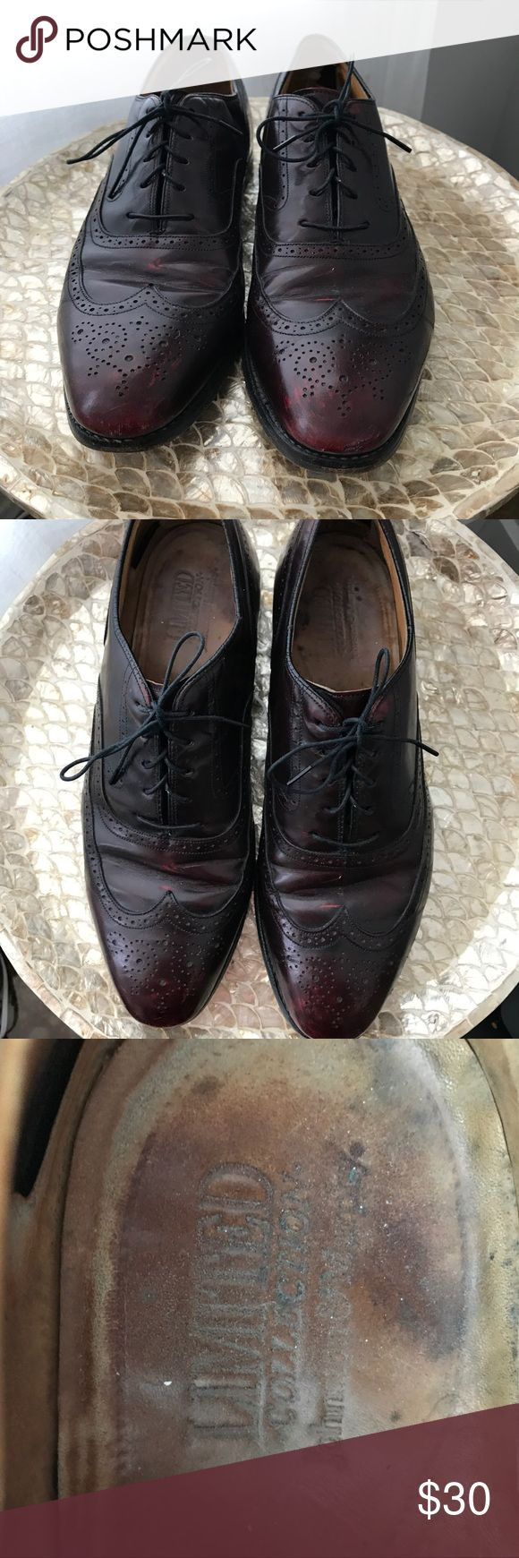 Limited Collection Johnson and Murphy Loafers Limited Collection Loafers. Black with red accent. Insole can be easily repaired. High quality shoes! Johnson & Murphy Shoes Flats & Loafers
