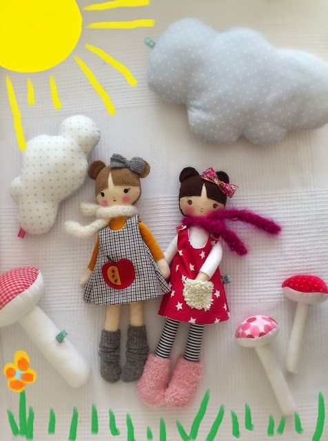 betsypetsy handmade: moje lale-how cute are these dolls?