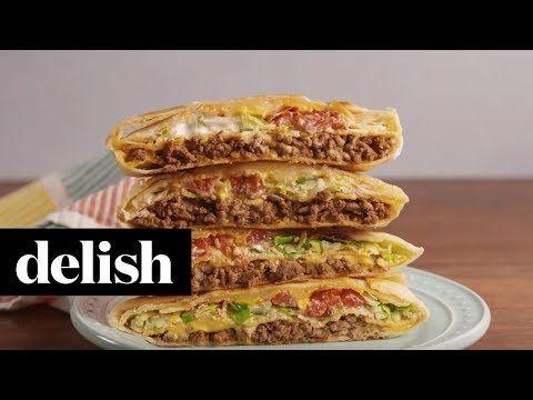 Best Crunchwrap Supreme Recipe - How to Make a Copycat Taco Bell Crunchwrap Supreme