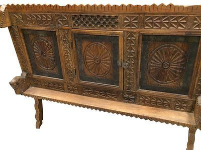 ANTIQUE-CHAKRA-SIDEBOARD-CHEST-CARVED-VINTAGE-MEDIEVAL-BUFFET-RUSTIC-FURNITURE   http://stores.ebay.com/mogulgallery/Sideboards-/_i.html?_fsub=1109606219&_sid=3781319&_trksid=p4634.c0.m322