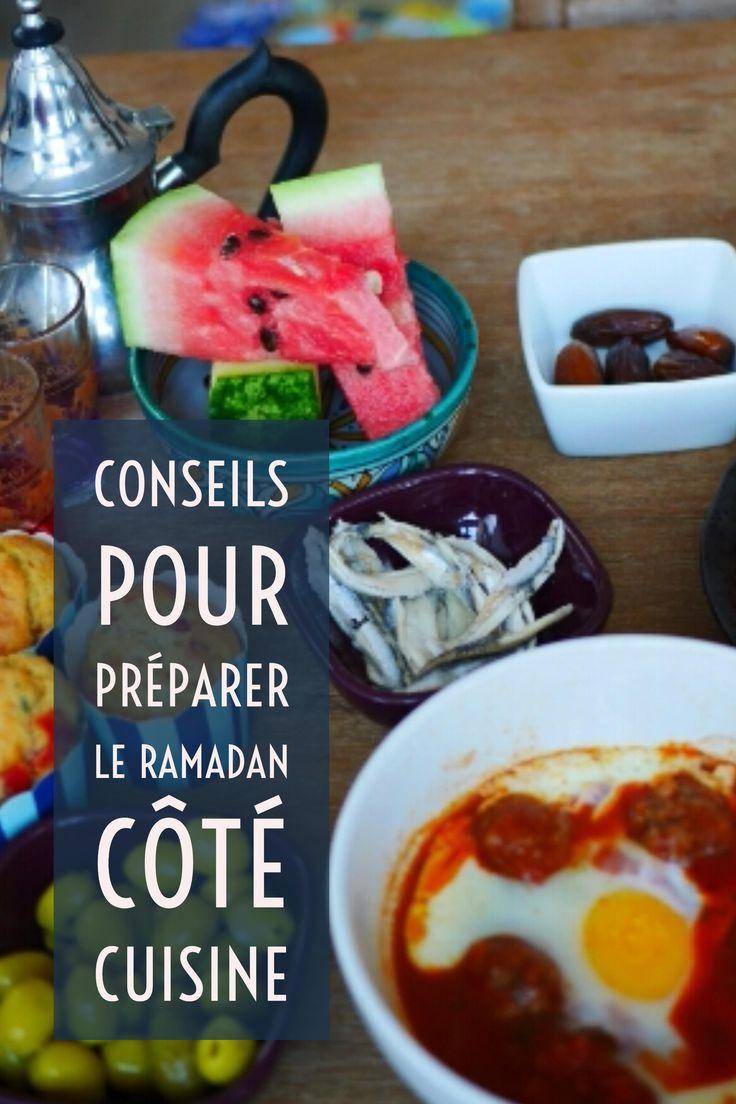 Anticiper les menus, la liste de courses et planifiez vos recettes de ramadan, plein de conseils utiles !