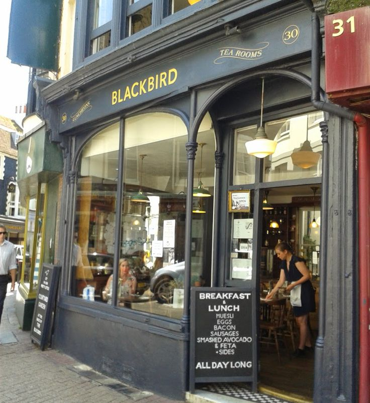 REVIEW: Blackbird Tea Rooms, Brighton | The Graphic Foodie - Brighton food blog and reviews