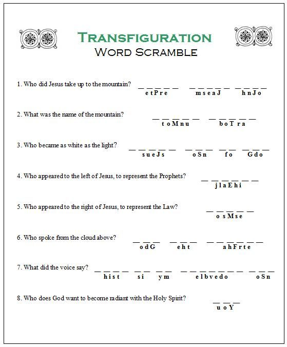19 best Catholic Worksheets images on Pinterest | Religion, Prayer ...