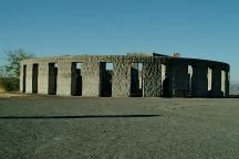 Stonehenge Memorial is a replica of  the Stonehenge Monument in England...  Built by Samuel Hill as a memorial to  Klickitat County soldiers who lost their  lives in World War One. Construction  was completed in 1929.
