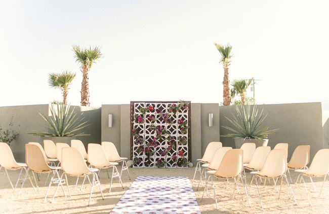 MID-CENTURY MODERN PALM SPRINGS WEDDING INSPIRATION AT HOTEL LAUTNER-Palm Springs Style Magazine