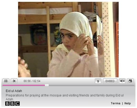 A young Muslim shares her experience of celebrating the festival with this video from BBC Class Clips.