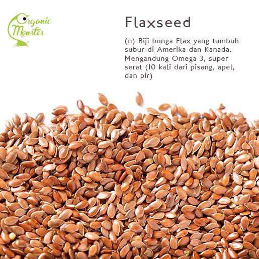 Dapatkan manfaat flaxseed dalam varian baru Organic Monster, Berries In Love! Cuma ada di bulan Februari lho, Monsters!