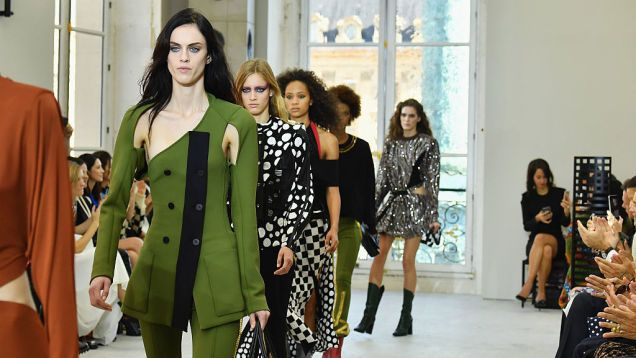 French-fashion Companies Draft Charter to Ban Super-Skinny Models