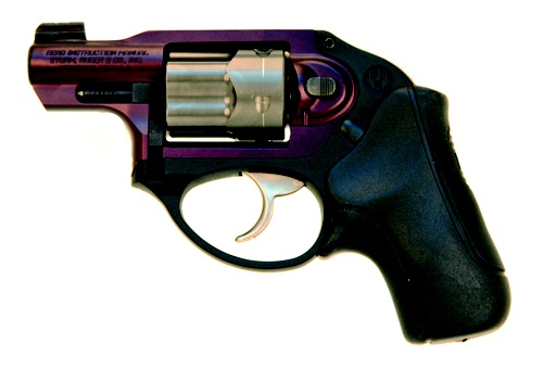 Ruger .38 special. I sure do like the purple!