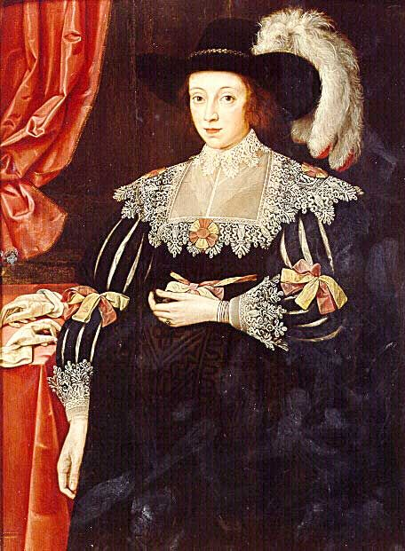 Lady Anne Fanshawe, 1628   by Marcus Gheeraerts the Younger.    from http://hatsfromhistory.tumblr.com/