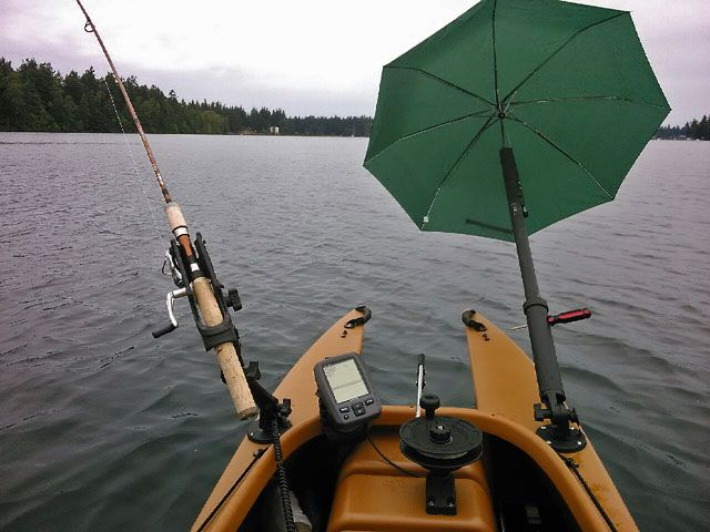 17 best images about kayak fishing on pinterest oak for Boat umbrellas fishing