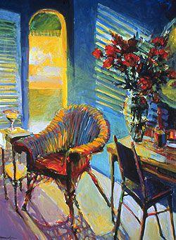 Robert Burridge Painting